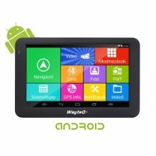 GPS навигация за камион с Андроид WayteQ x995 Android, WIFI, 24GB, 2 програми
