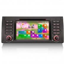 Double din навигация за BMW E39 E53 с WinCe N B512W GPS, DVD, 7 инча