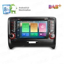 Навигация двоен дин с Android 6.0 за AUDI TT PB76ATTAP, 7 инча