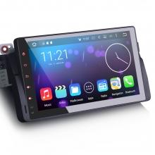 Навигация двоен дин за BMW E46 ES6906B с Android 6.0, GPS, WiFi, 9 инча