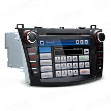 Навигация двоен дин за Mazda 3 (10-13) PF81M3MS, WinCe, GPS, 7 инча