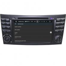 Вградена навигация двоен дин за Mercedes W211 W219 с Android 7.1 BZ0701 , GPS, DVD, 7 инча