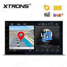 Универсална навигация двоен дин с Android 8.0,  PE706PL, GPS, WiFi, DVD, 7 инча