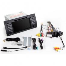 Навигация двоен дин BMW E39 E53 M5 с Android 8.1 BM0701A81, GPS, WiFi, DVD, 7 инча