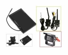 """Безжична система 7"""" монитор и IR камера за паркиране на камиони, кемпери AT C109M"""