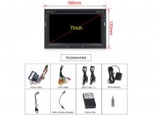 Специализирана мултимедийна навигация за PEUGEOT 3008,5008 с Android 10 PE7570H GPS, WiFi,DVD, 7 инч