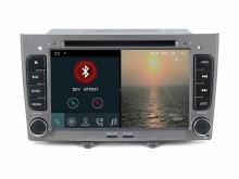 Навигация двоен дин за PEUGEOT 308,408 с Android 10 PE7370SH GPS, WiFi,DVD, 7 инча