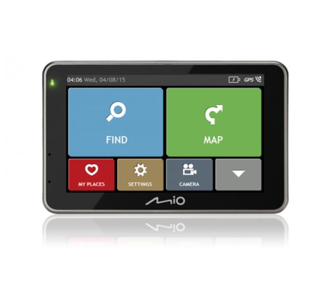 Навигация за кола MIO Combo 5207 LM - Доживотно актуализиране на картите
