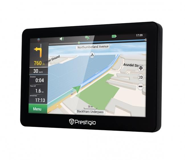 GPS навигация за камион Prestigio GEOVISION 5056 EU - 800MHZ, 4GB, 128MB RAM