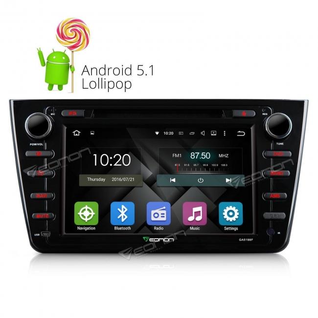 Навигация Eonon GA5198FV за Mazda 6 GPS, WiFi, Android,DVD, 8 инча