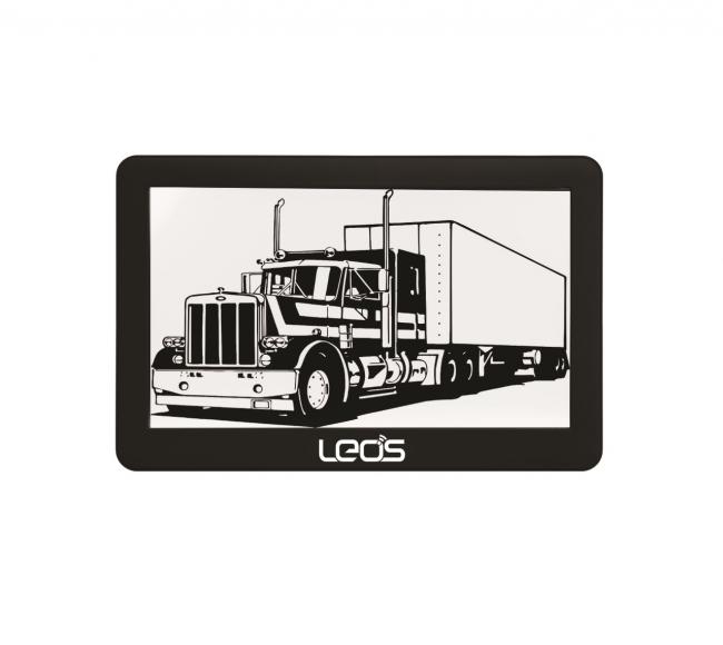 Навигация за камион LEOS TRUCK MATE 5 инча, 256MB, 2 програми, Сенник