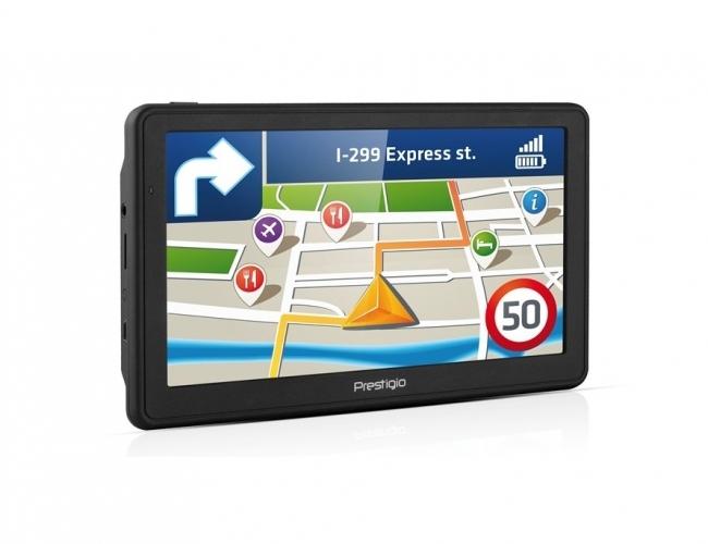 GPS навигация Prestigio Geovision 7059 - 7 инча, 800mhz, 256MB RAM, 8GB памет