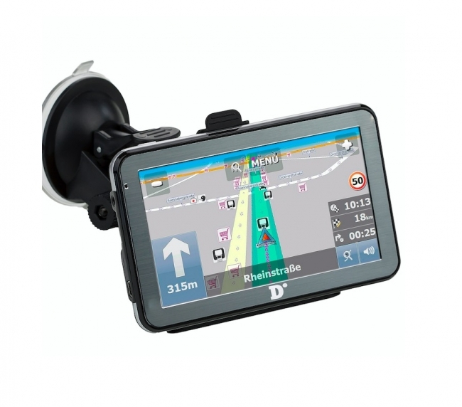 Навигация Diniwid N5 за камион 5 инча, 256BM RAM