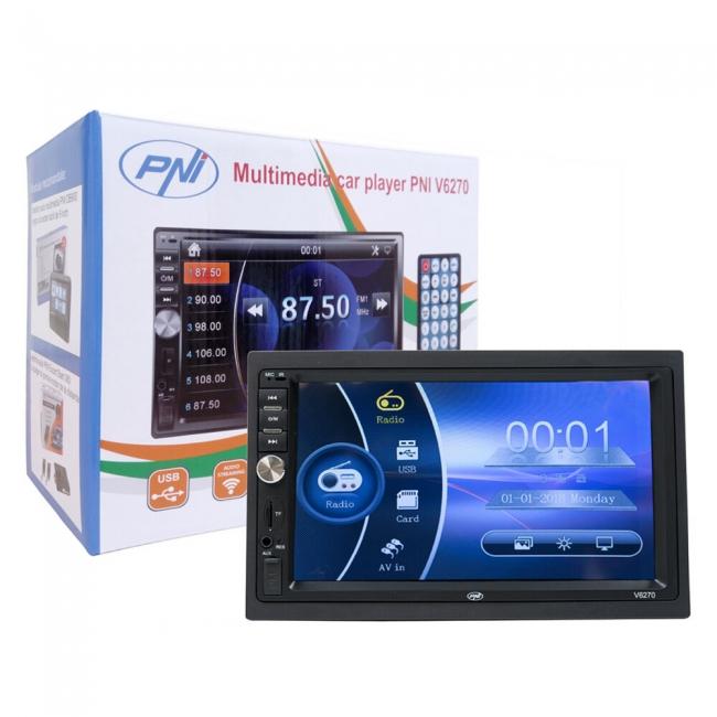 Универсална мултимедия PNI V6270, Bluetooth, USB, 7 инча + КАМЕРА