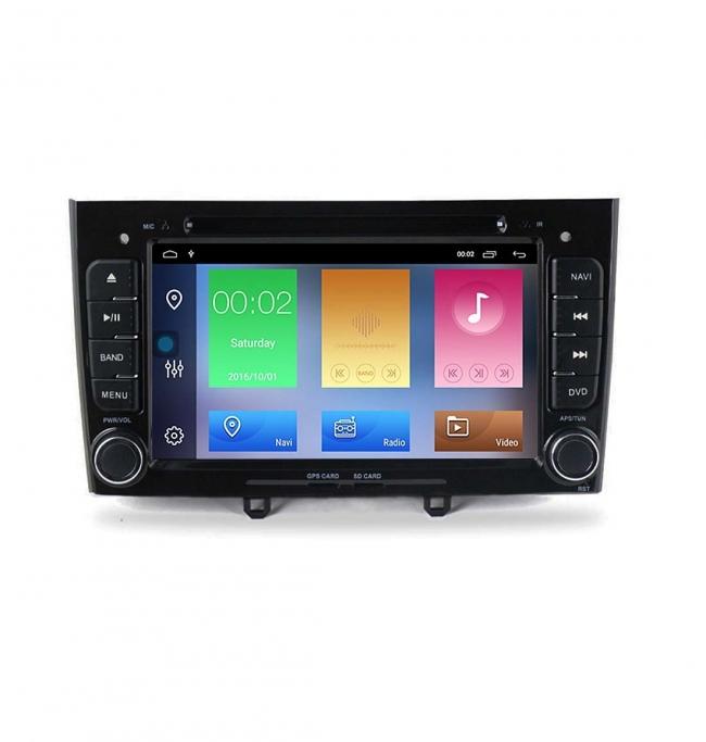 Мултимедийна навигация за PEUGEOT 308,408 с Android 10 PE7370H GPS, WiFi,DVD, 7 инча