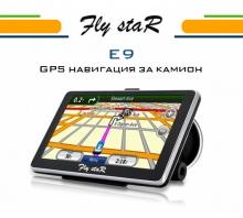 5 инча навигация за камион Fly StaR E9