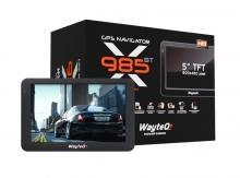 Двуядрена навигация за камион WayteQ x985BT - 5 инча, 256MBRAM, Bluetooth