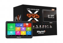 GPS навигация с Андроид WayteQ x995 Android Sygic с безплатни актуализации на картите