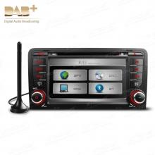 Навигация двоен дин за Audi A3,S3 и RS3 7 инча PX71AA3DAB, Цифров FM тунер, GPS