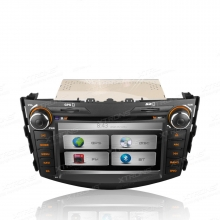 Навигация Двоен Дин PX71RVT за Toyota RAV4 (06 - 11), DVD, GPS, 7 инча