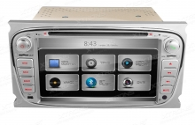 Навигация 7 инча PX71FSF-S за Ford Focus, S-Max, Mondeo, Galaxy, GPS, USB