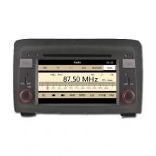Мултимедийна навигация за Fiat Idea(03-07)  8718G-1-FIA, WinCE, GPS, DVD, 7 инча