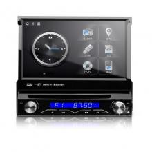 Универсална навигация единичен дин D714SGS WinCE, DVD, GPS, 7 инча