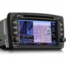 GPS навигация за Mercedes BENZ  ES7507M, GPS, DVD Player, WinCE, 7 инча