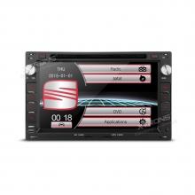 Навигация двоен дин за SEAT, PF70MTWS с GPS, DVD, 7 инча