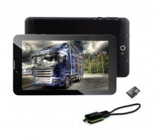 3в1 GPS 3G Таблет DIVA 7 инча, Android, SIM, Навигация, Цифрова телевизия