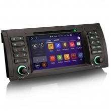Навигация двоен дин ES3061B за BMW 5 Серия E39 X5 E53 M5,Android, GPS, DVD, 7 инча