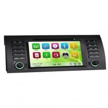 Навигация двоен дин ES7053B за BMW 5 E39 X5 E53 E38, GPS, DVD, WinCE, 7 инча