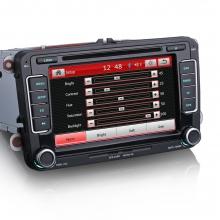 Навигация двоен дин за Skoda ES7298C, GPS, DVD, 7 инча