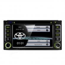 Навигация двоен дин за Toyota RAV4, COROLLA, PF61HGTS , GPS, DVD, 6.2 инча