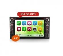 Мултимедийна навигация двоен дин ES7677M за KIA, DVD, GPS, WinCE, 6.2 инча
