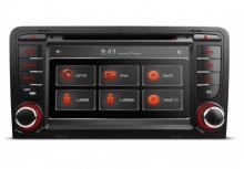 Навигация двоен дин за Audi A3/S3(2003-2013) PF71A3AGT GPS, DVD, CanBus, 7 инча