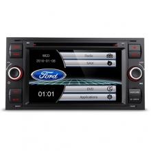 Двоен дин навигация за FORD Fiesta, Mondeo, Focus PF70FSFS-B, GPS, DVD, WinCE, 7 инча