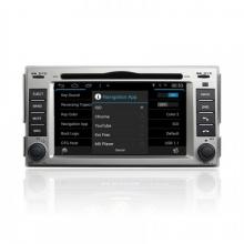 Двоен дин за Hyundai Santa Fe (07-12) M008G Android, GPS, DVD, 6.2 инча