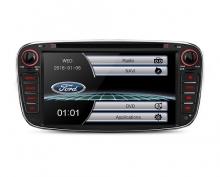 2 din за Ford Focus PF71FSFS-B, GPS, DVD, WinCE, 7инча