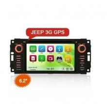 Навигация двоен дин за JEEP ES6061M, DVD, GPS, WinCE, 7 инча