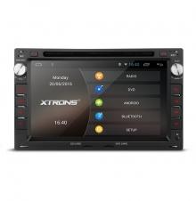Навигация двоен дин за SEAT Leon, Ibiza, Alhambra GPS, DVD, Android, WiFi, 7 инча