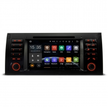 Double din навигация за BMW E39 E53 с Android N B505А GPS, DVD, 7 инча