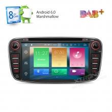 Навигация двоен дин за FORD с Android 6.0 PB76FSFAP-B, GPS, WiFi, 7 инча