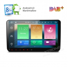 Навигация двоен дин за SEAT с Android 6.0 PB96MTVAPL, GPS, WiFi, 7 инча