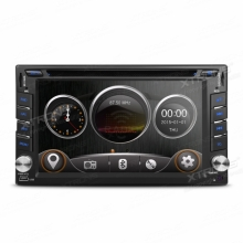 Универсален модел мултимедийна навигация Двоен Дин 6.2 инча TD619G, GPS, USB, SD