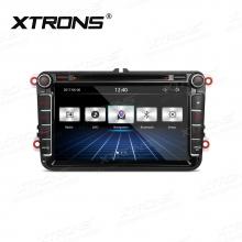 Навигация двоен дин за SEAT Altea, Leon, Alhambra с WinCE PF81MTVST, GPS, DVD, 8 инча