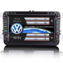 Навигация двоен дин за VW SEAT ES8115V, WinCE, GPS, DVD, 8 инча