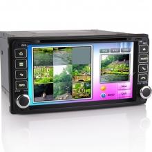 Навигация двоен дин за TOYOTA ES7603M, WinCE, GPS, DVD, 7 инча