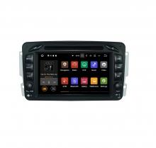 Вградена навигация двоен дин за Mercedes W203 W209 W463 с Android 9.0 BZ0702A9 , GPS, DVD, 7 инча
