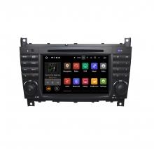 Вградена навигация за Mercedes W203 W209 с Android 9.0 BZ0704A9 , GPS, DVD, 7 инча